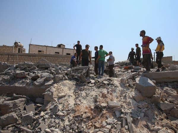 11 قتيلاً مدنياً في غارات روسيا والنظام على إدلب
