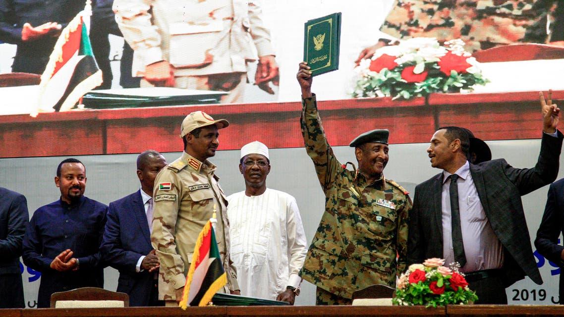 السودان توقيع الاتفاق الانتقالي