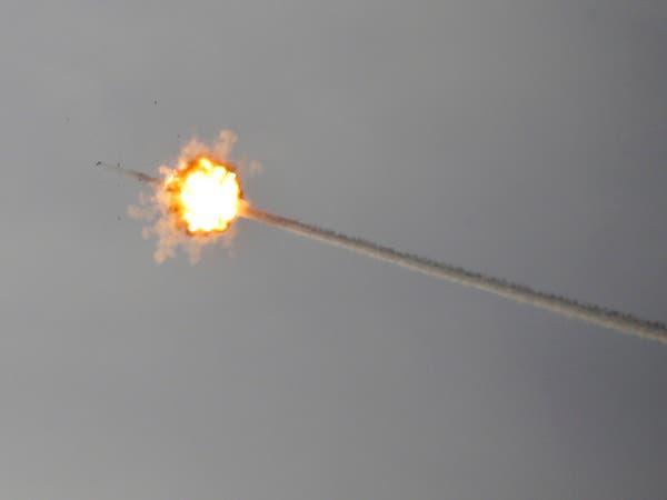 غزة.. إطلاق صاروخين باتجاه إسرائيل واعتراض أحدهما