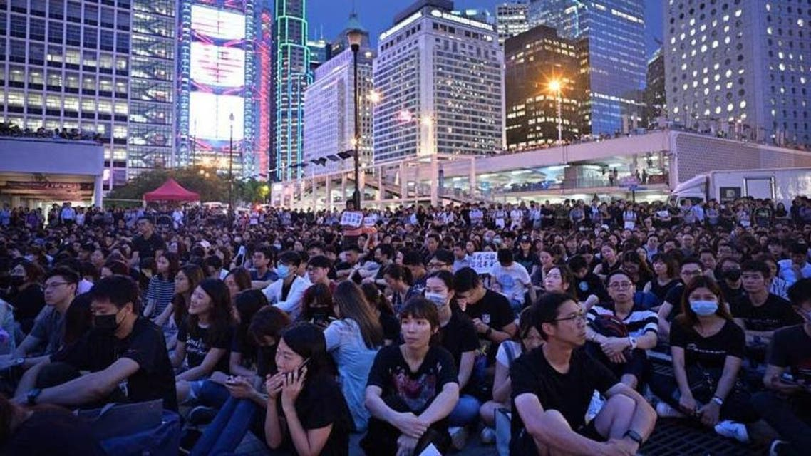 US lawmakers' support for Hong Kong protests