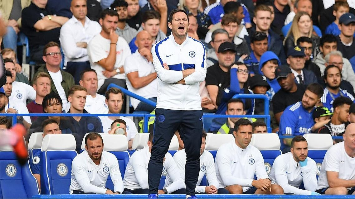 Chelsea manager Frank Lampard. (AFP)