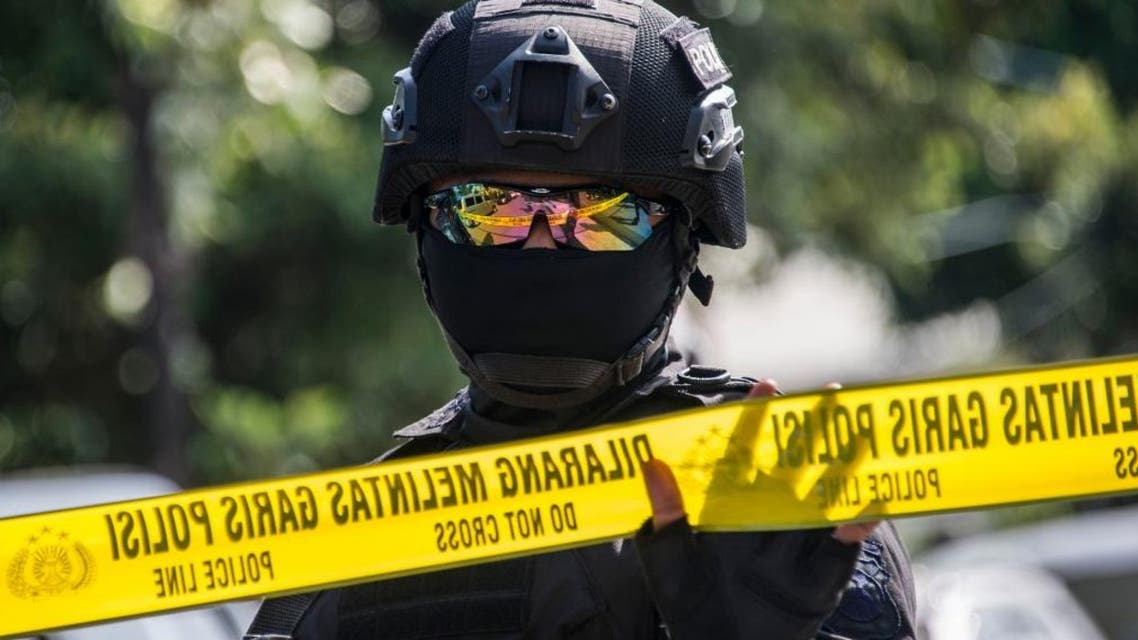Indonesia police AFP