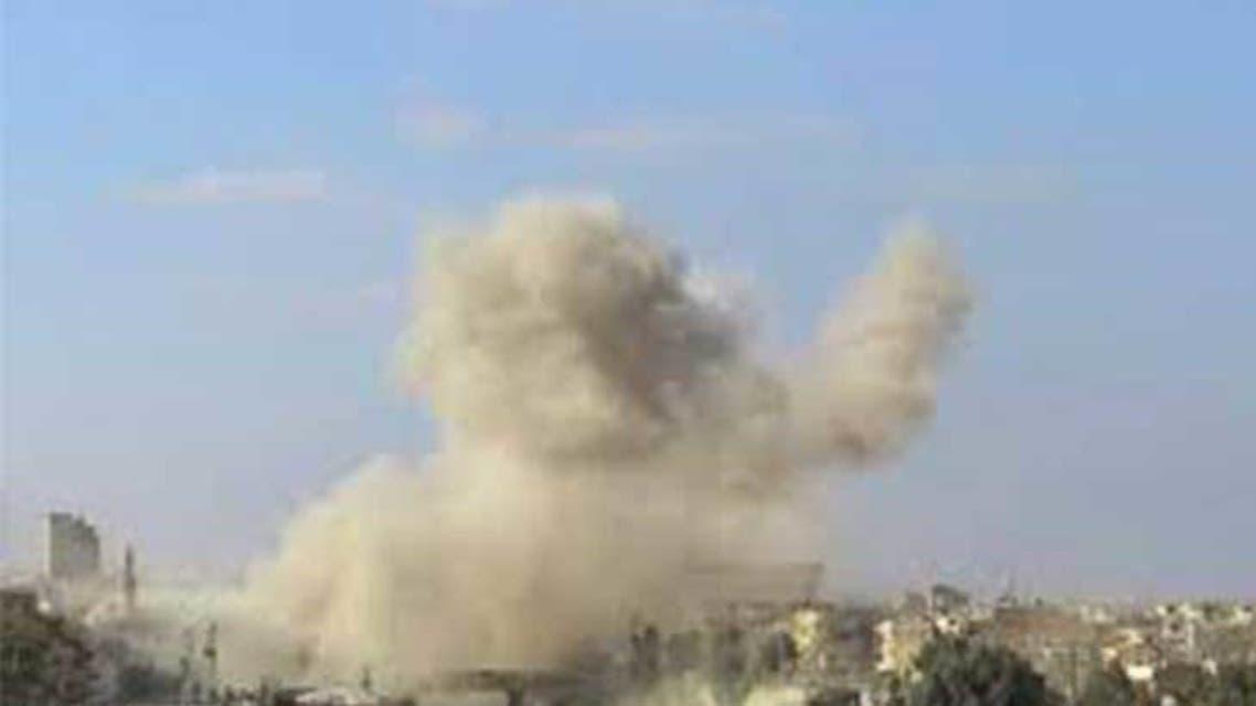 انفجار سابق في القامشلي