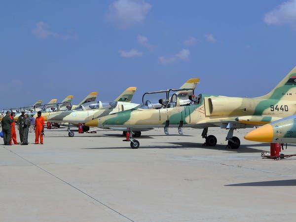 """13 غارة للجيش على قاعدة لطائرات """"الدرون"""" التركية بمصراتة"""