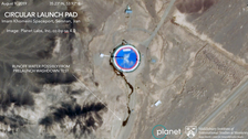 Satellite images reveal another Iran satellite launch looms