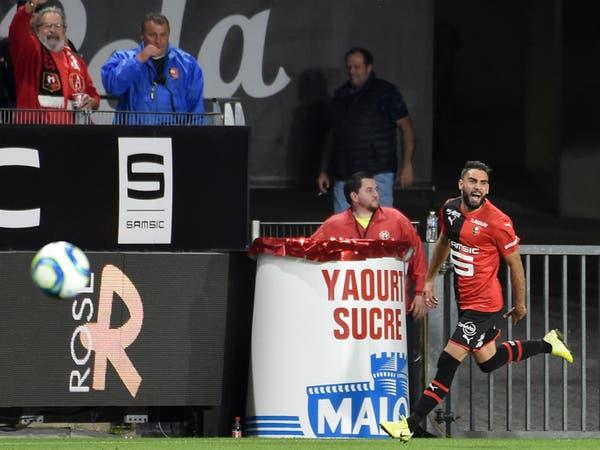 رين يسقط باريس سان جيرمان في ثاني جولات الدوري الفرنسي
