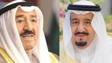 شاہ سلمان نے امیرِ کویت سے رابطہ کر کے خیریت دریافت کی