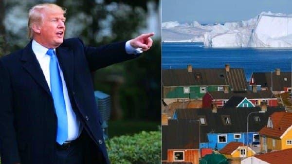 استمع إلى ترمب يشرح ما الذي سيفعله بغريلاند إذا اشتراها
