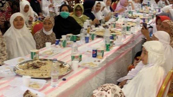 سعودی عرب میں مقیم شہریوں کا 400 حجاج کرام کے اعزاز میں عشائیہ