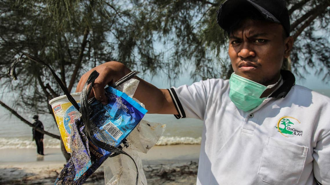 A string of initiatives have been rolled out to fight the scourge of plastic waste. (AFP)