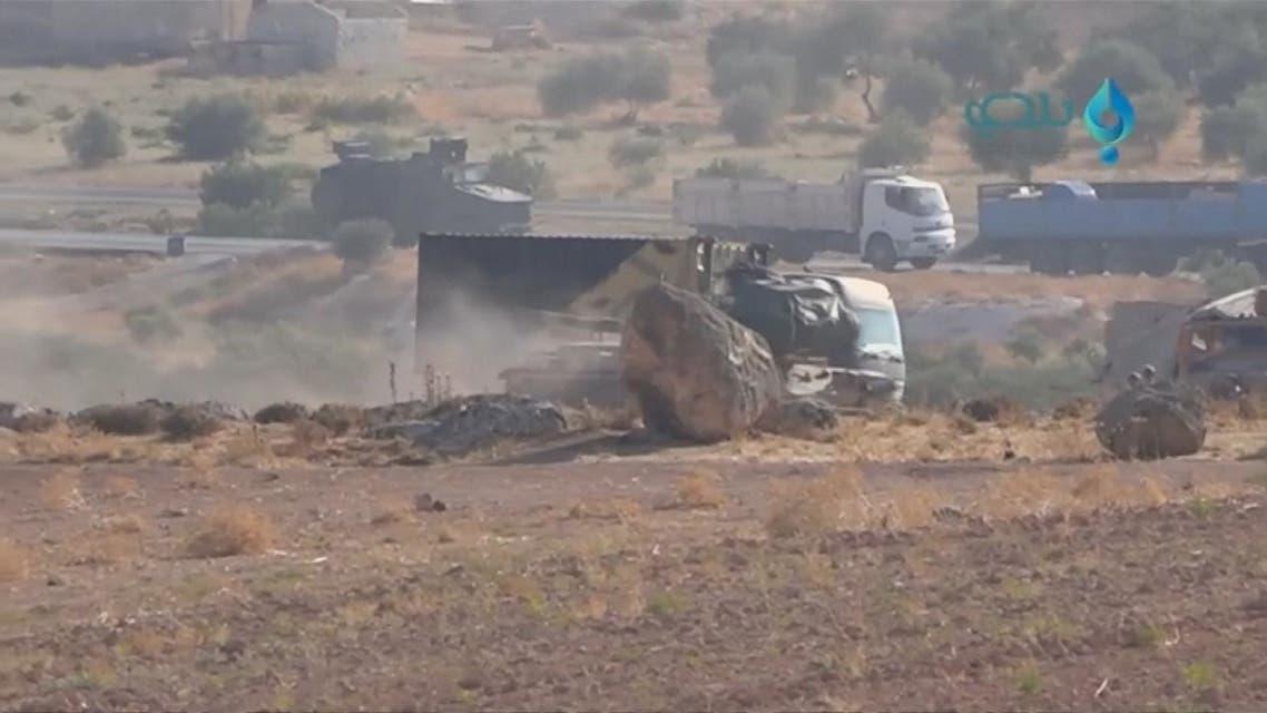 تداعيات استهداف الرتل العسكري التركي في إدلب