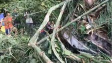 Thirteen Chinese tourists killed as bus plunges into ravine in Laos