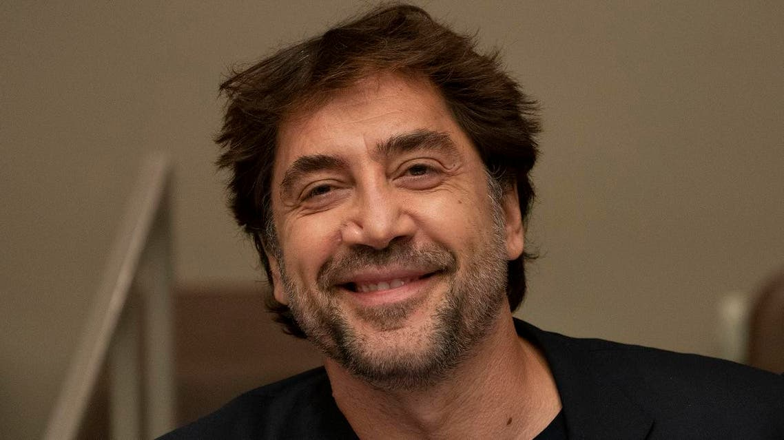 Actor Javier Bardem speaks as he calls on world leaders to agree a Global Ocean Treaty during a meeting at the United Nations August 19, 2019 in New York. (AFP)