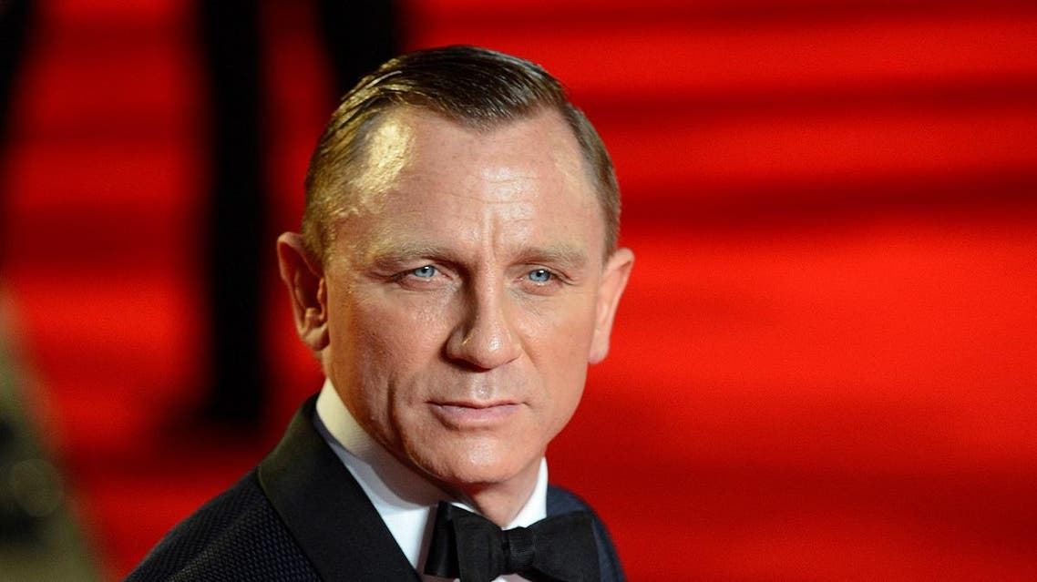 """Actor Daniel Craig arrives for the royal world premiere of the new 007 film """"Skyfall"""" at the Royal Albert Hall in London. (File photo: AFP)"""
