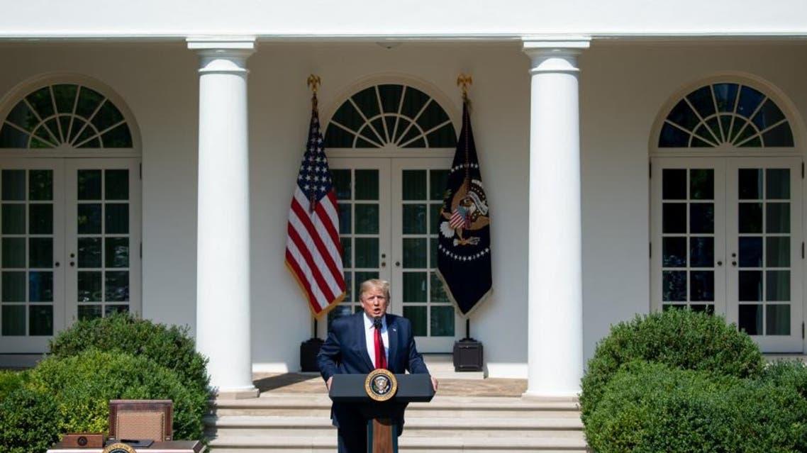 Turmp White House AFP