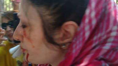 شرطة إيران تنهال بالضرب على محتجين ضد قتل الكلاب