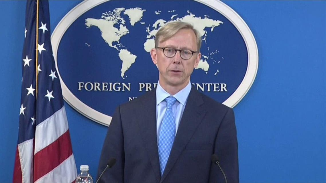 The United States envoy on Iran Brian Hook