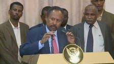 سوڈان کے عبوری وزیراعظم عبداللہ حمدوک کی حلف برداری