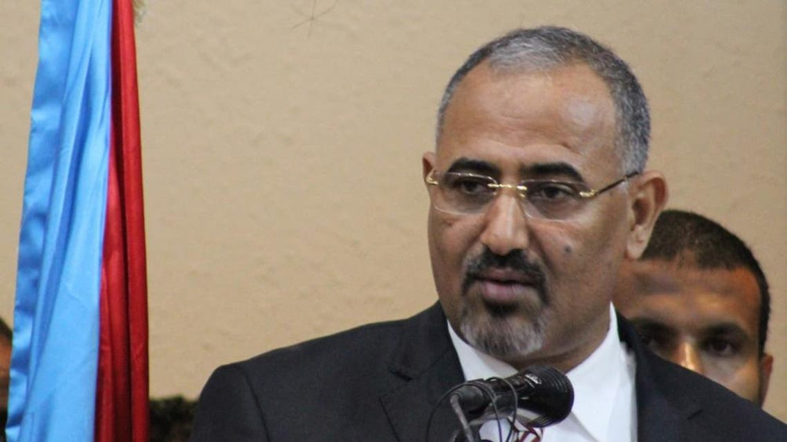 STC president Aidaroos al-Zubaidi. (File photo: AFP)