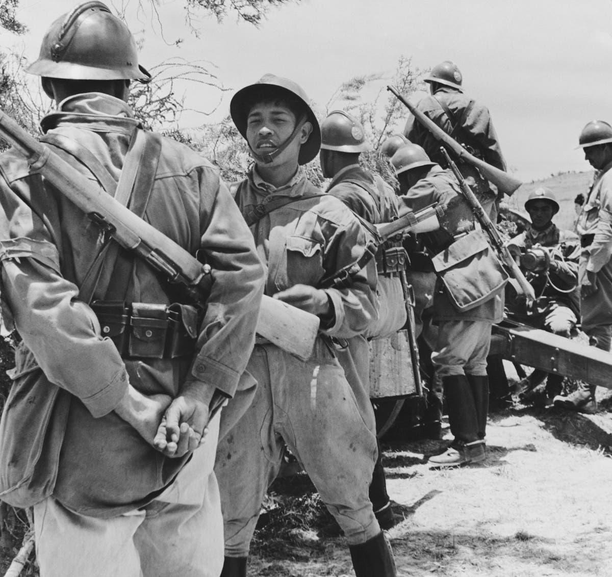 جنود مكسيكيون شاركوا بالحرب العالمية الثانية