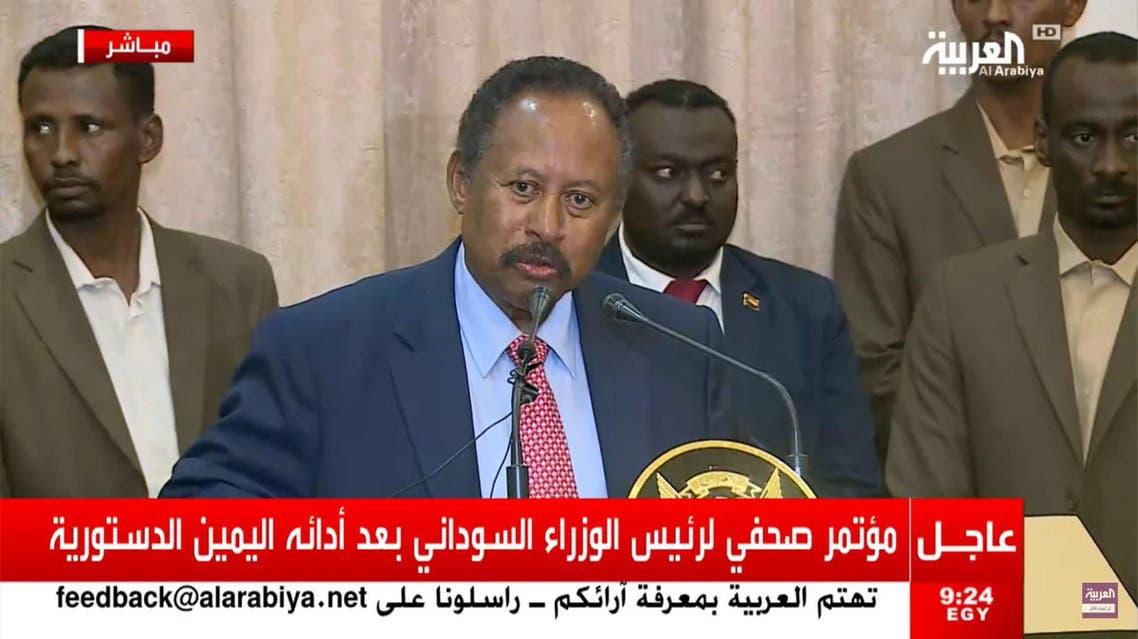 Abdalla Hamdok sworn in as PM of Sudan's new transitional government