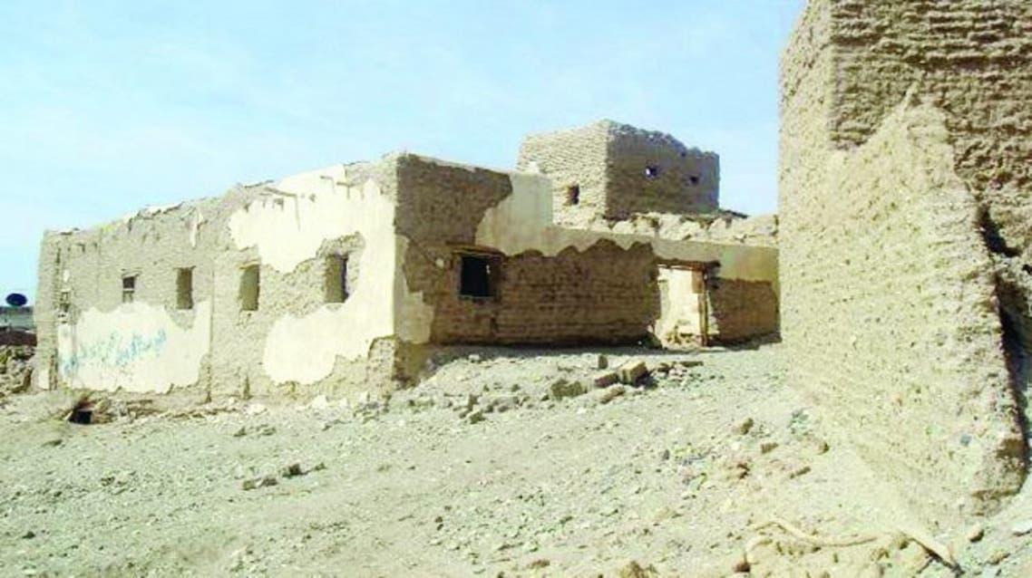 1566486120373_قصر ينسب لغالية البقمية في مدينة تربة