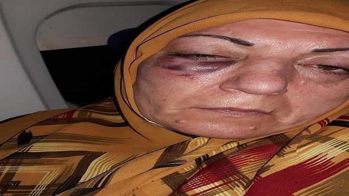THUMBNAIL_ ضابط إيراني يضرب سيدة عراقية