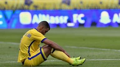 إصابة حمدالله بالتواء في مفصل القدم