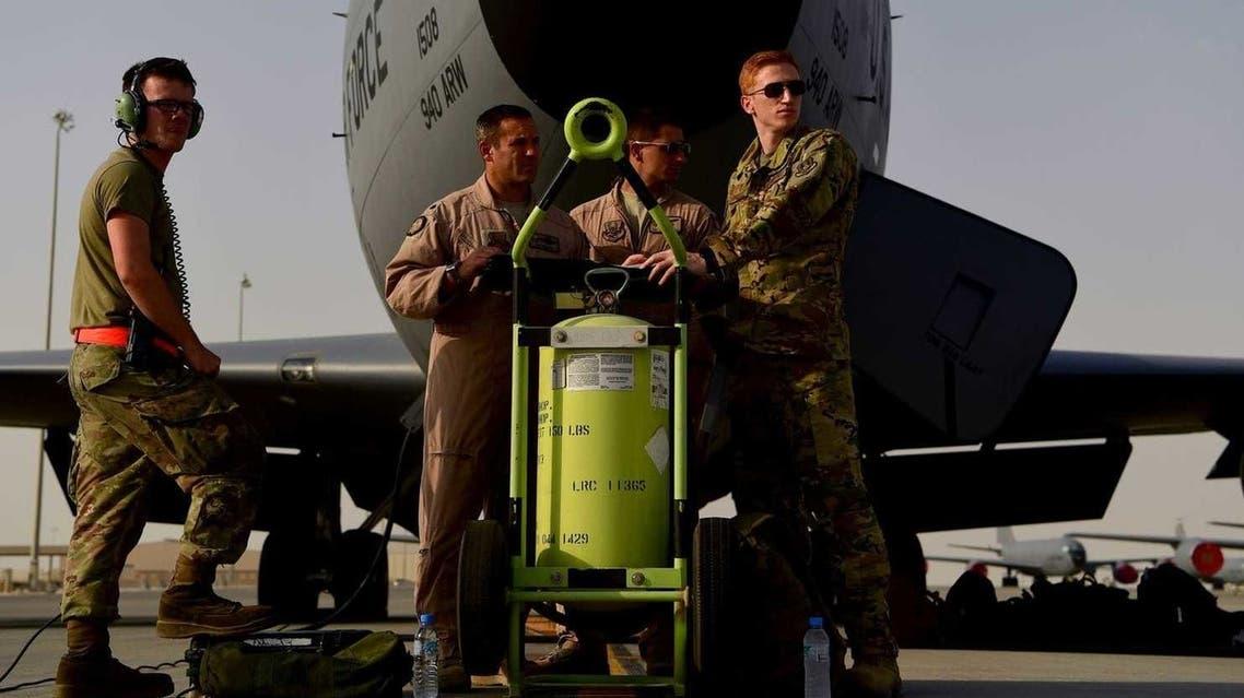 من قاعدة العديد الجوية في قطر