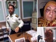 ضابط إيراني يضرب سيدة عراقية.. وهذا ما قالته