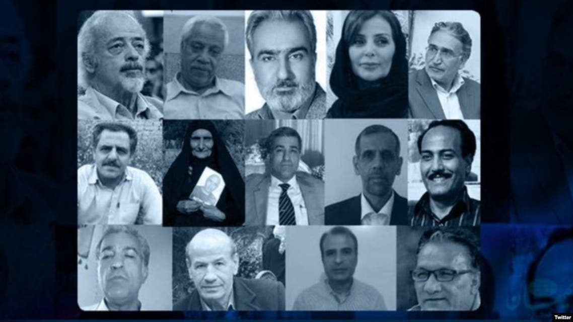 الناشطين الذين وقعوا على بيان تنحي المرشد