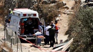 مقتل مستوطنة غرب رام الله وجرح فلسطيني قرب غزة