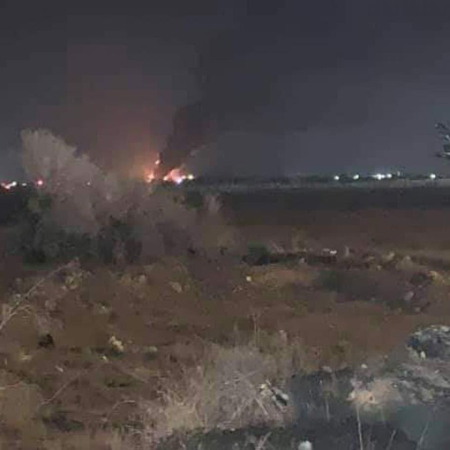الجيش الليبي يدمّر مخزن طائرات مسيرة بمصراتة