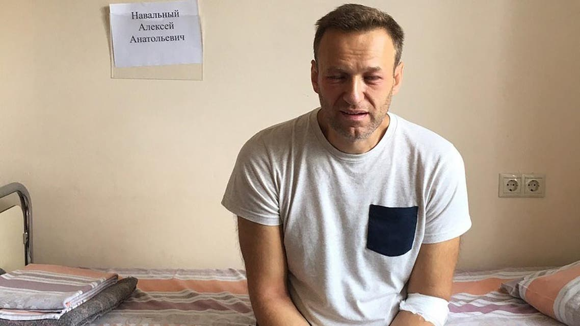 Kremlin critic Alexei Navalny was released on August 23, 2019, after serving 30 days in jail for urging protests against the exclusion of opposition candidates from upcoming elections in Moscow. (AFP)