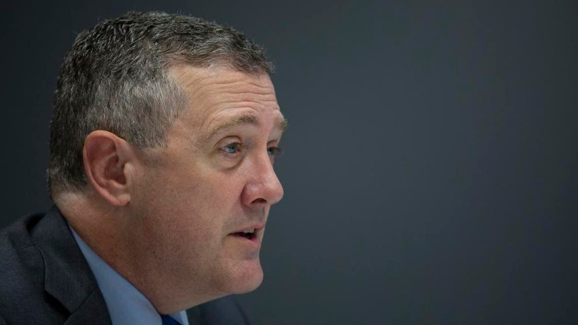 President and CEO of the Federal Reserve Bank of St. Louis James Bullard. (AFP)