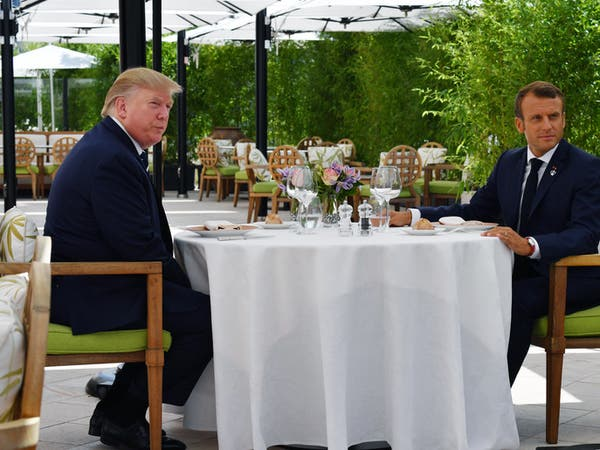 "باريس: ""عناصر تقارب"" بين ترمب وماكرون بشأن إيران"