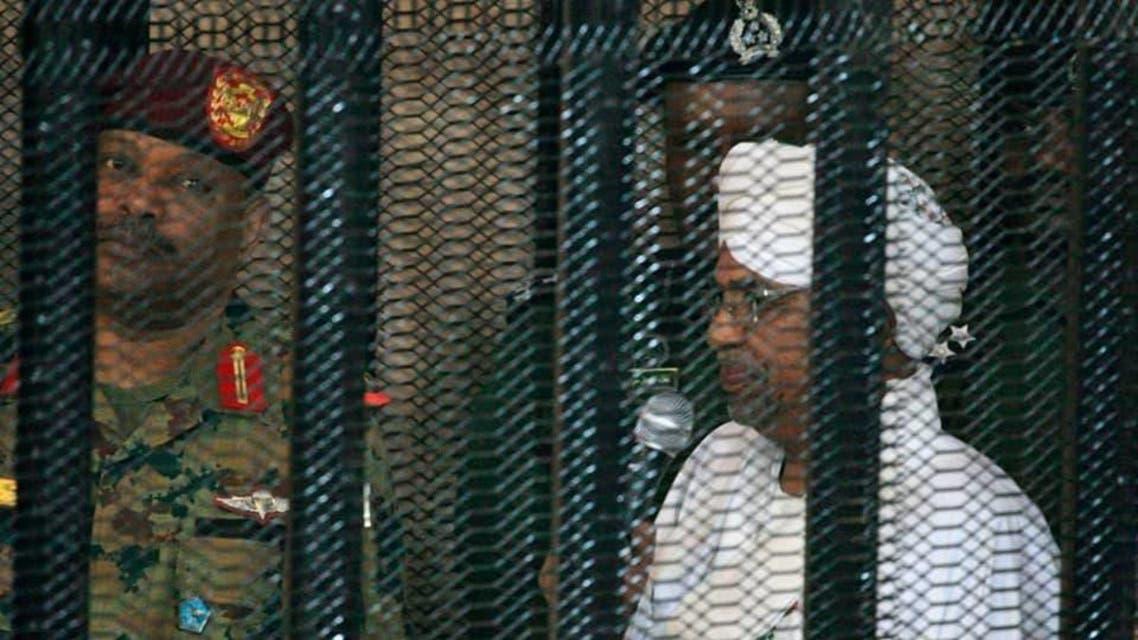 Umer al Bashir in court