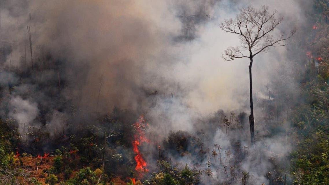 Amazon fire AFP