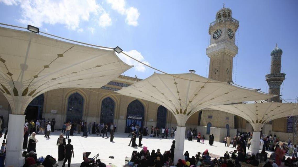 Iraq Shiite mosque AFP