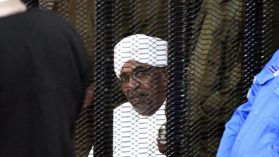 Omar Al Bashir trial AFP