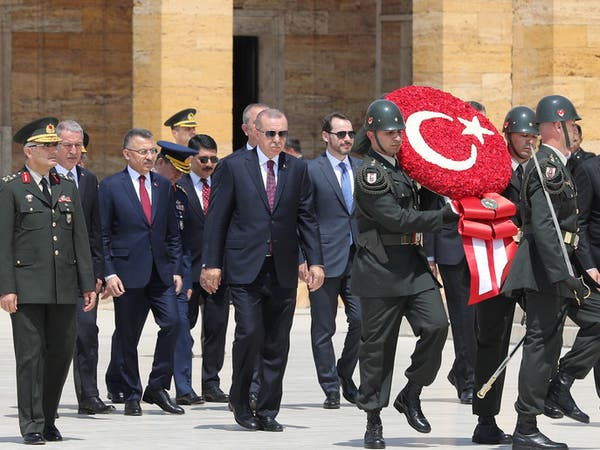 أردوغان يتّهم رؤساء البلديات المقالين: إرهابيون