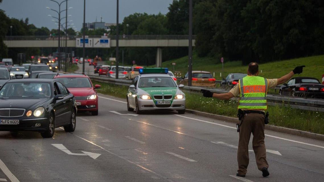 German police. (AFP)