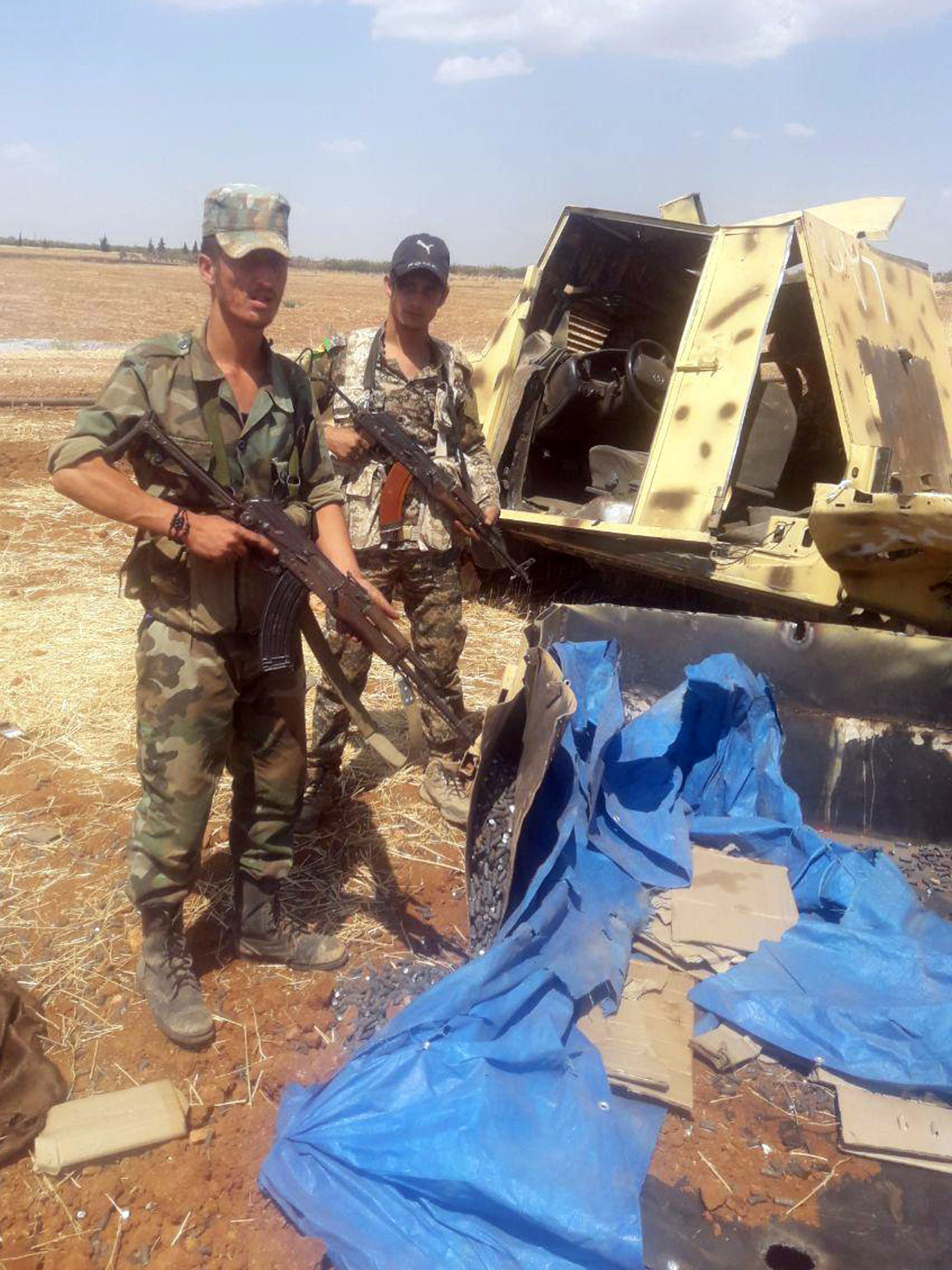 قوات النظام السوري في إدلب