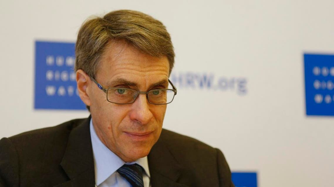 Human Rights Watch Executive Director Kenneth Roth attends a conference in Beirut January 29, 2015. (File photo: Reuters)