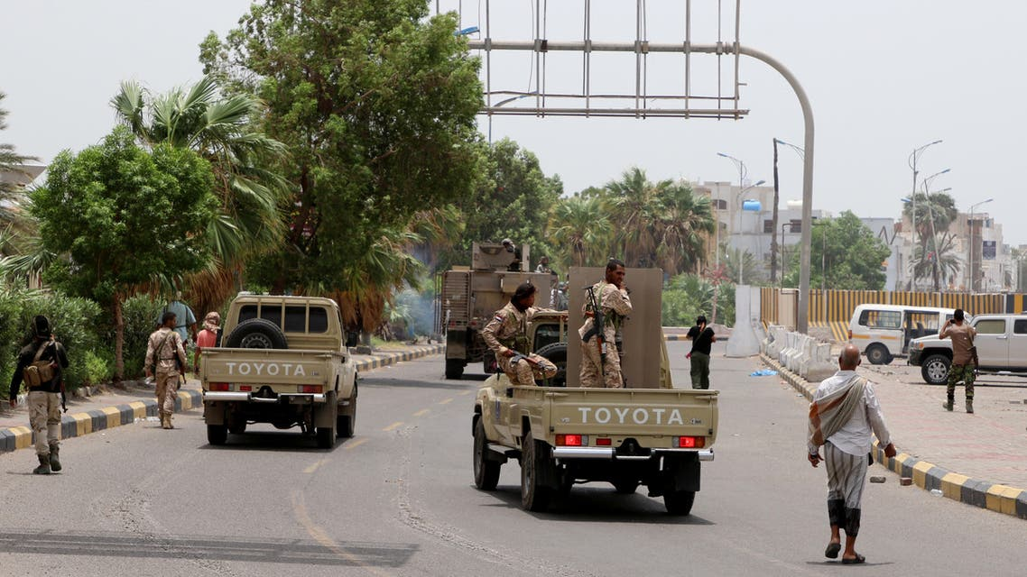 انفصاليون يمنيون جنوبيون في عدن