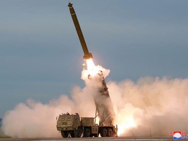 زعيم كوريا الشمالية يشرف على اختبار نظام صواريخ جديد