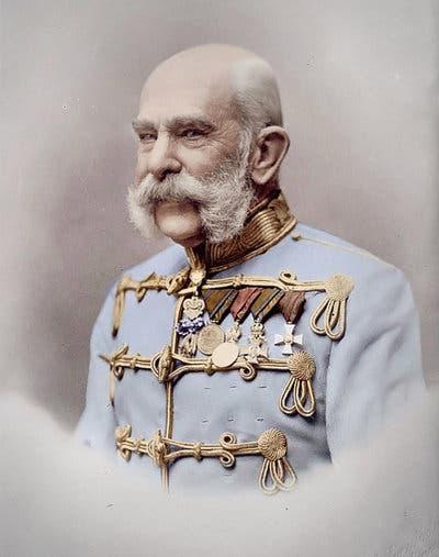 الإمبراطور النمساوي فرانز جوزيف