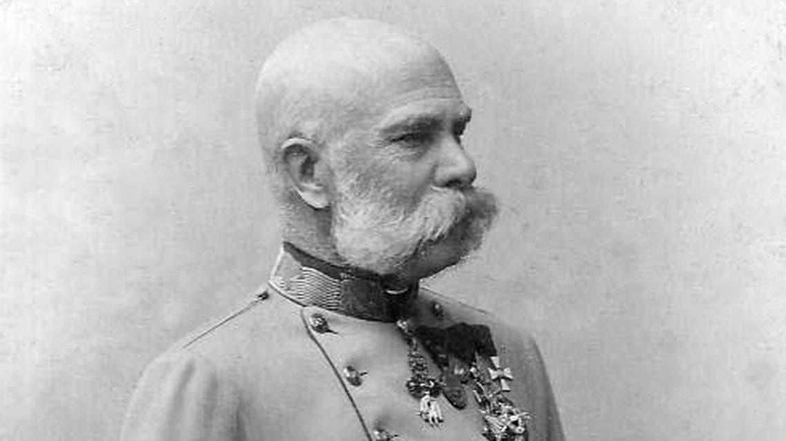 صورة للإمبراطور النمساوي فرانز جوزيف