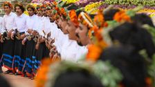Saudi Arabia's 'Flowerman Festival' kicks off celebrating history, tradition
