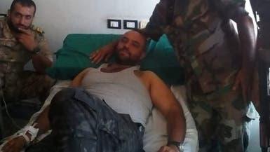 """بالصور.. الضابط الذي قتل """"الساروت"""" أصيب في إدلب"""